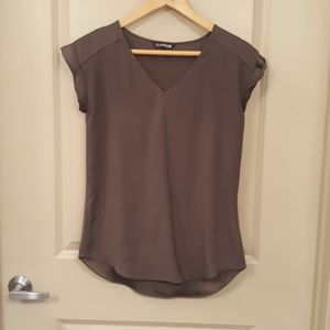 Olive Green Express Blouse